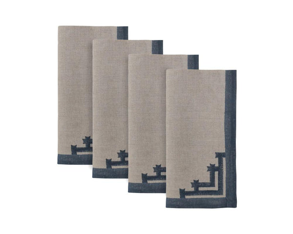 Siriki Napkin - Midnight (Set of 4)