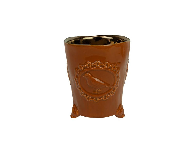 Potterie Bird Pot - Terracotta