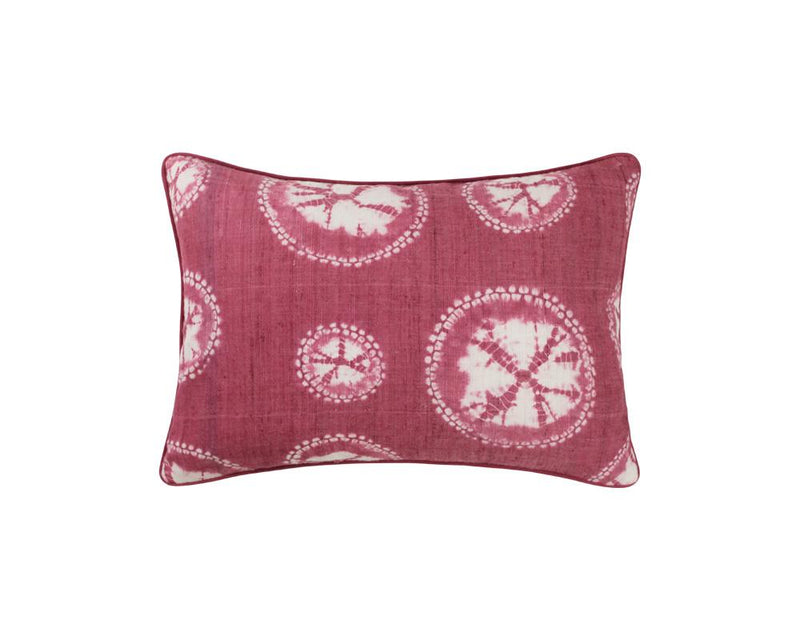 Shibori Cushion - Red