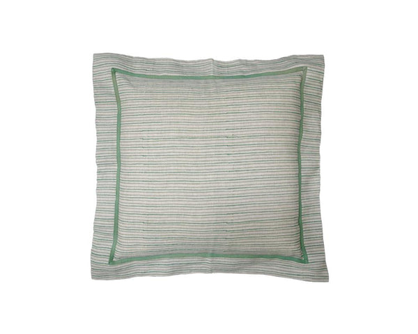 Chowa Stripe Cushion - Clover