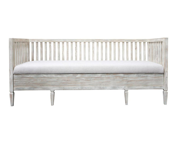 Swedish Late 19th Century Painted Bench