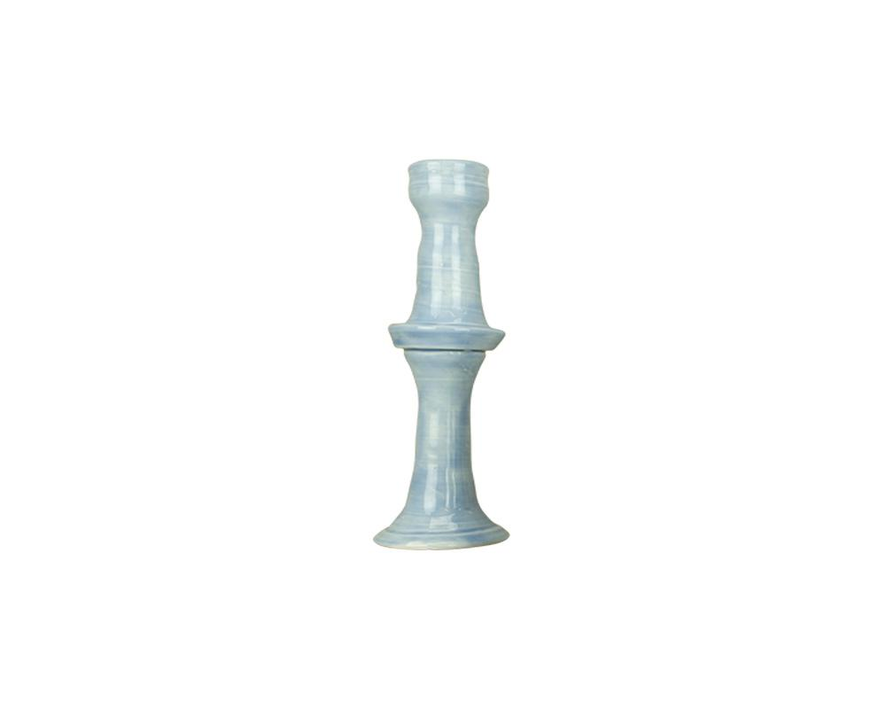 Limited Edition Joanna Ling Candlestick - Cornflower Blue