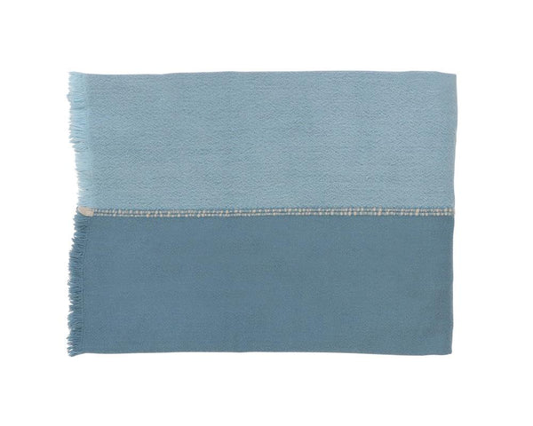 Medina Wool Throw - Marine
