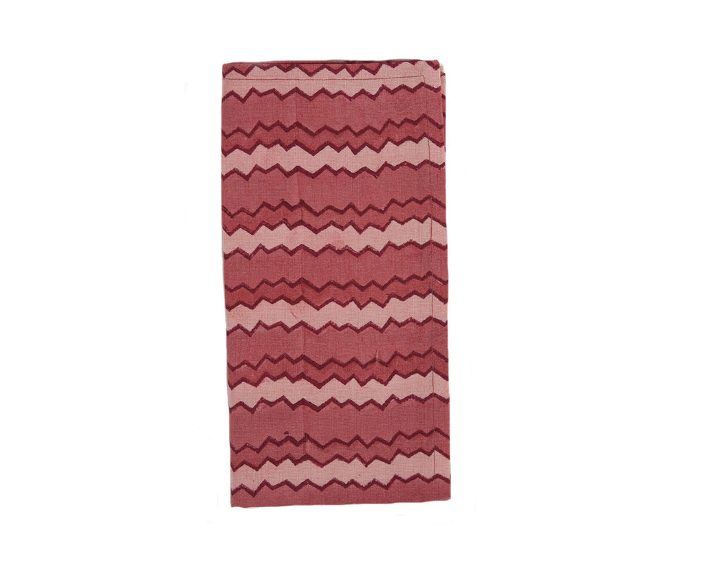 Chevron Napkin - Red