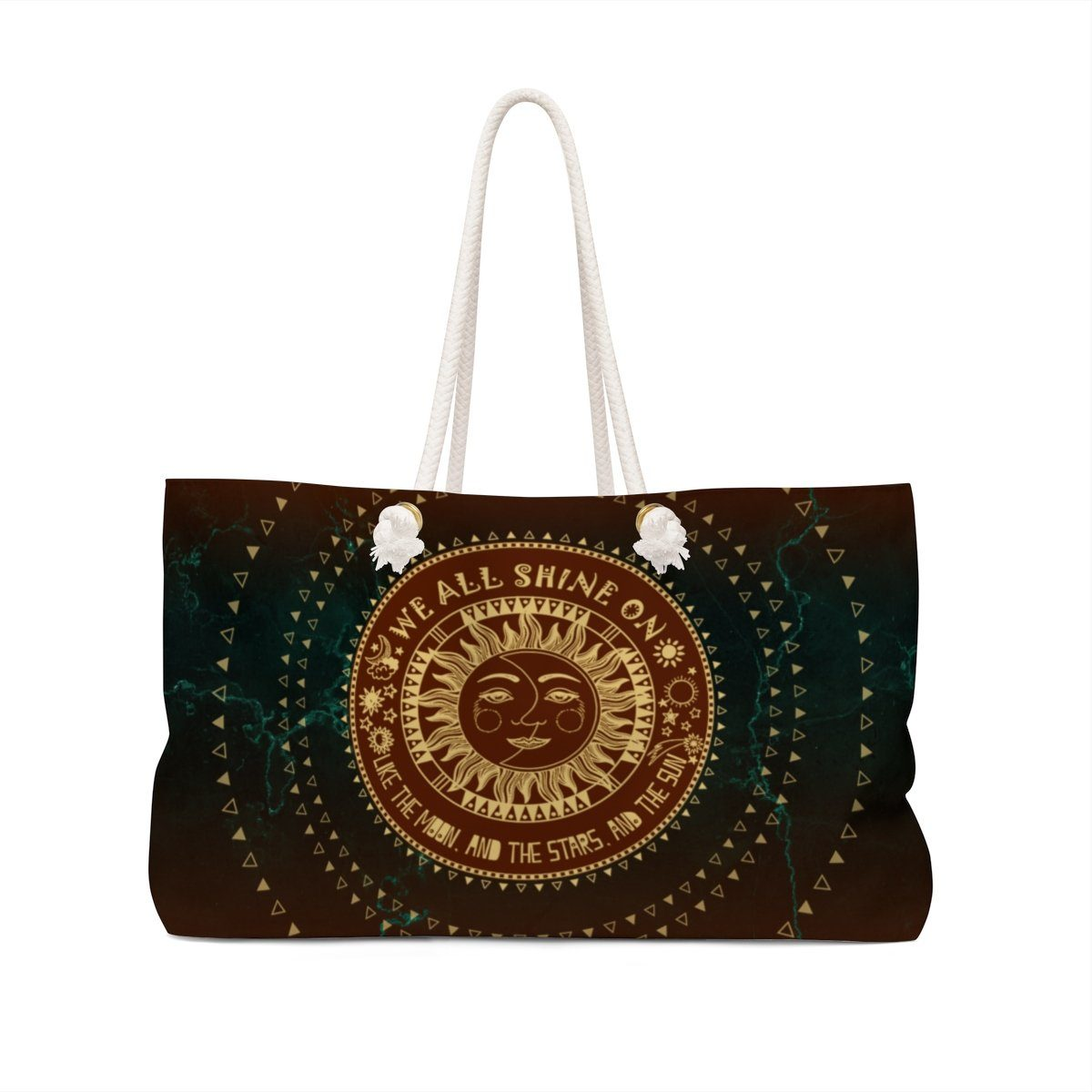 5846c40a36dd The Moon - The Stars - The Sun Weekender Bag - Heyjude Shoppe