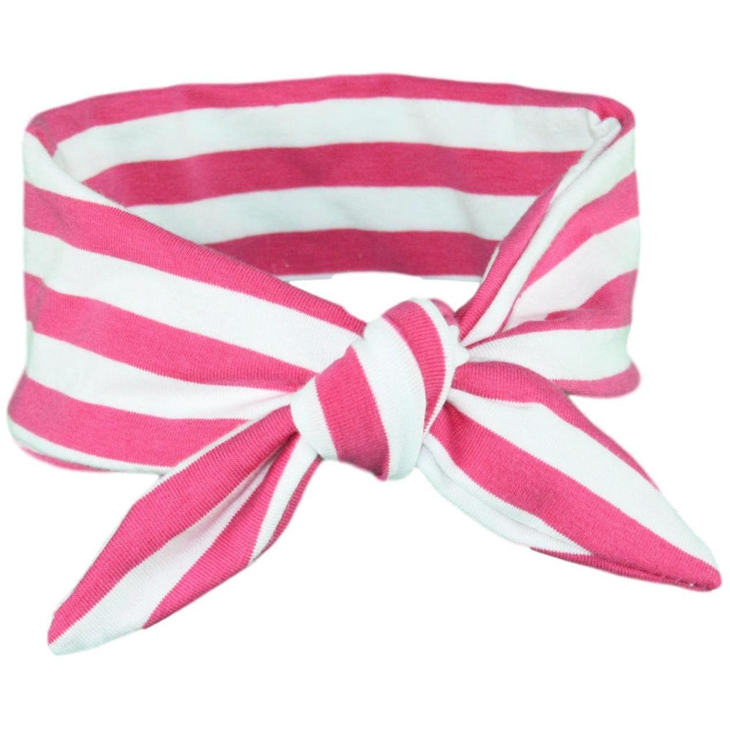 Fuchsia Pink & White Stripey ages 4 - 11 and Mummy