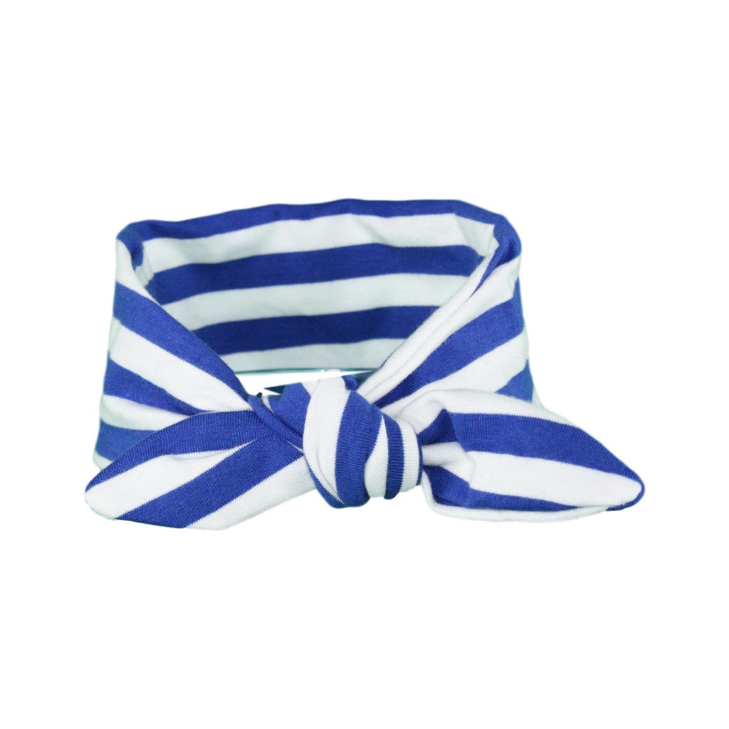 Blue & White Stripey ages 0 - 3