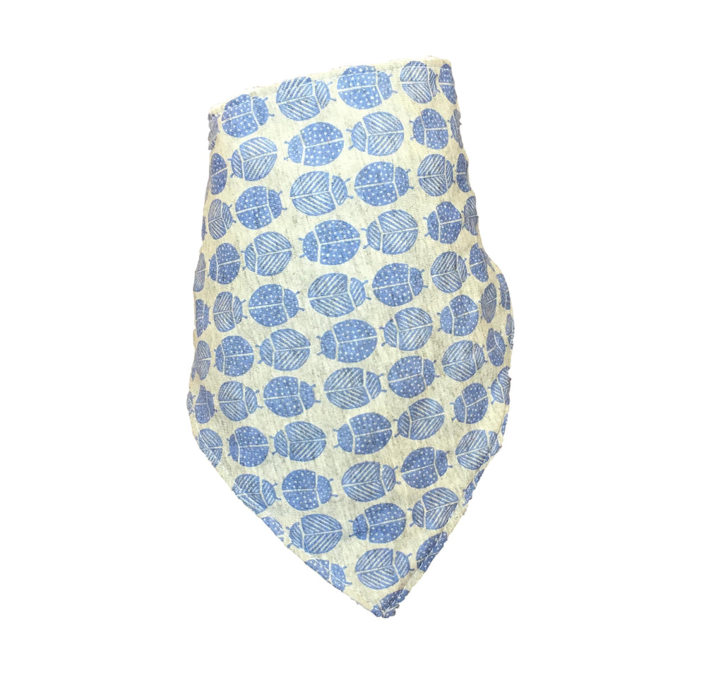 Blue Ladybird Bib LIMITED EDITION