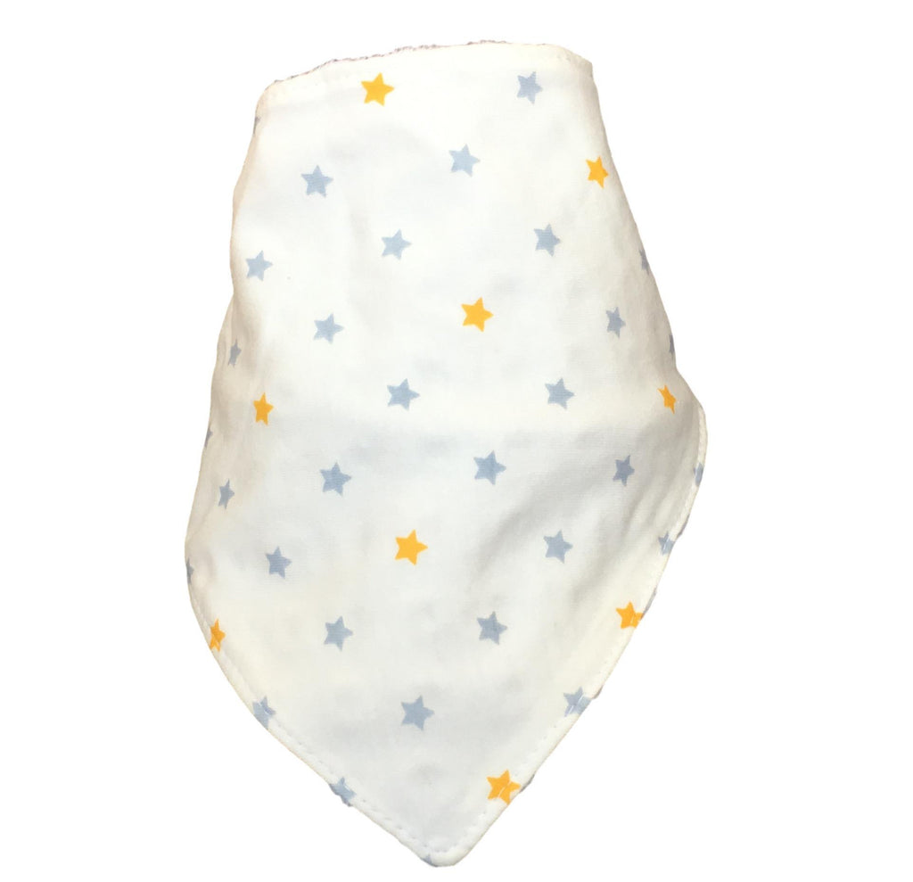 Grey Yellow Stars Bib LIMITED EDITION