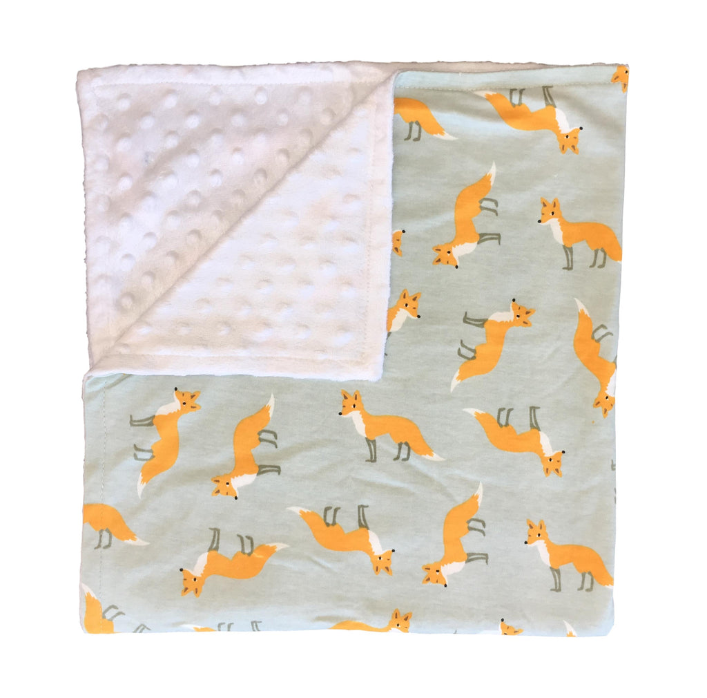 Sly Mr Fox Blanket