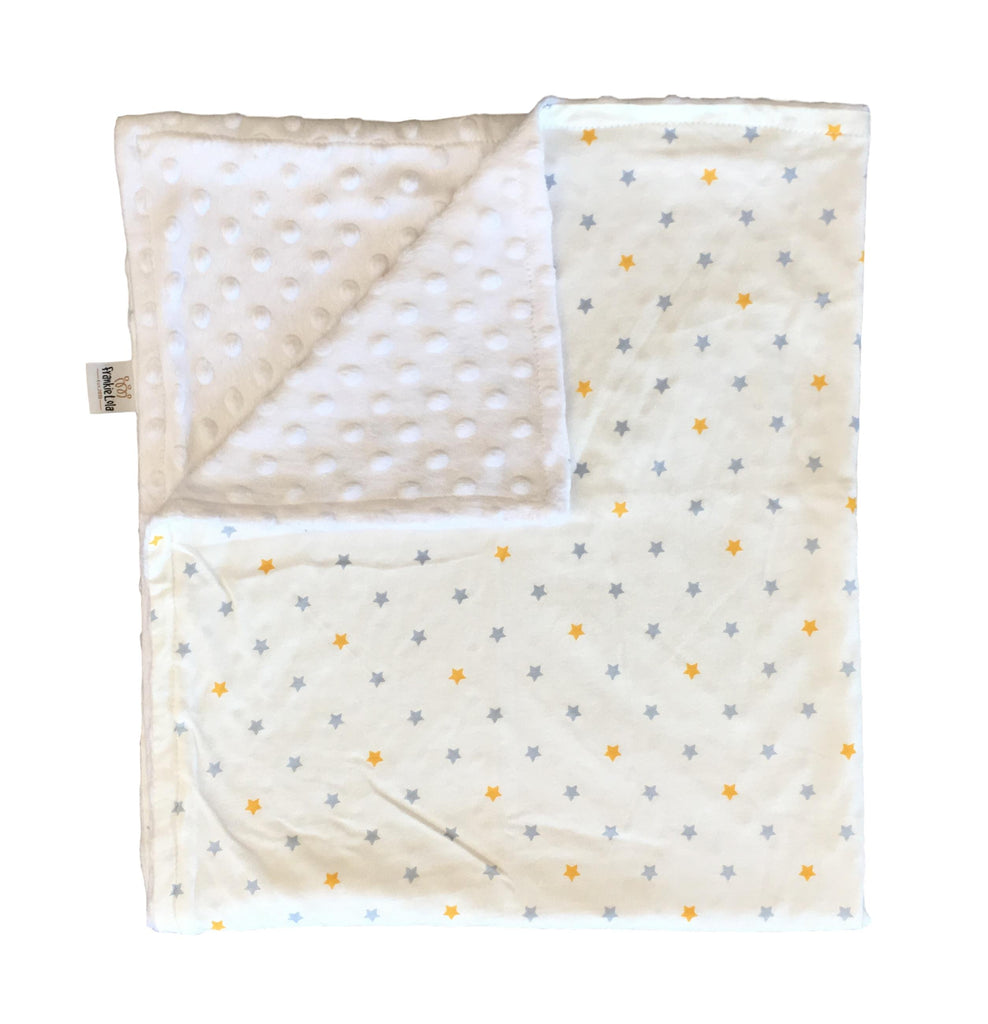Grey Yellow Stars Blanket LIMITED EDITION
