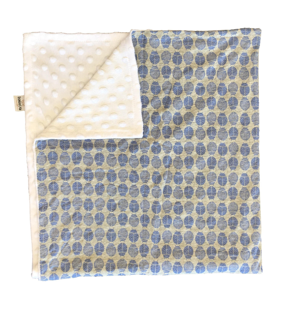 Blue Ladybird Blanket LIMITED EDITION