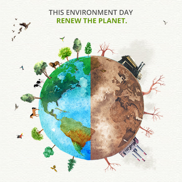 Renew the Planet This #ENVIRONMENTDAY