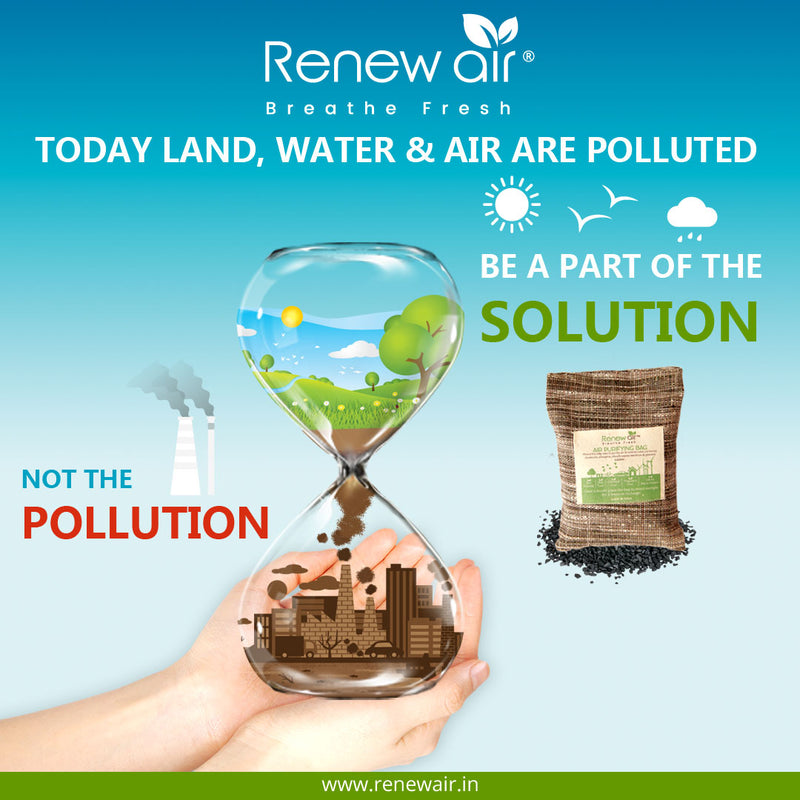 Be a part of the solution. Not the Pollution.