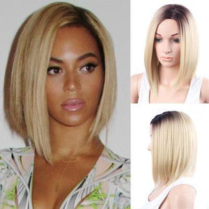 BLACK BLONDE OMBRE BEYONCE BOB WIG – Queen Style a063b7d331c8