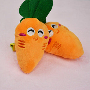 Squeaky Plush Sound Vegetables And Fruits