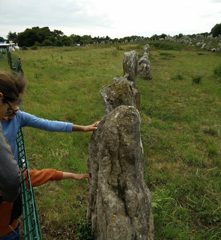 Carnac Megalithic Alignment