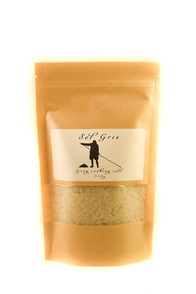 Grey Coarse Salt from Guerande