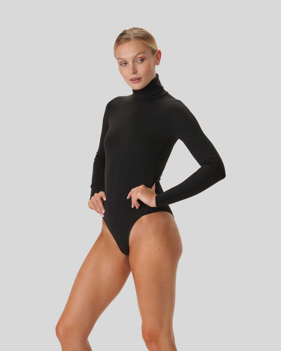 Leah High Neck Bodysuit