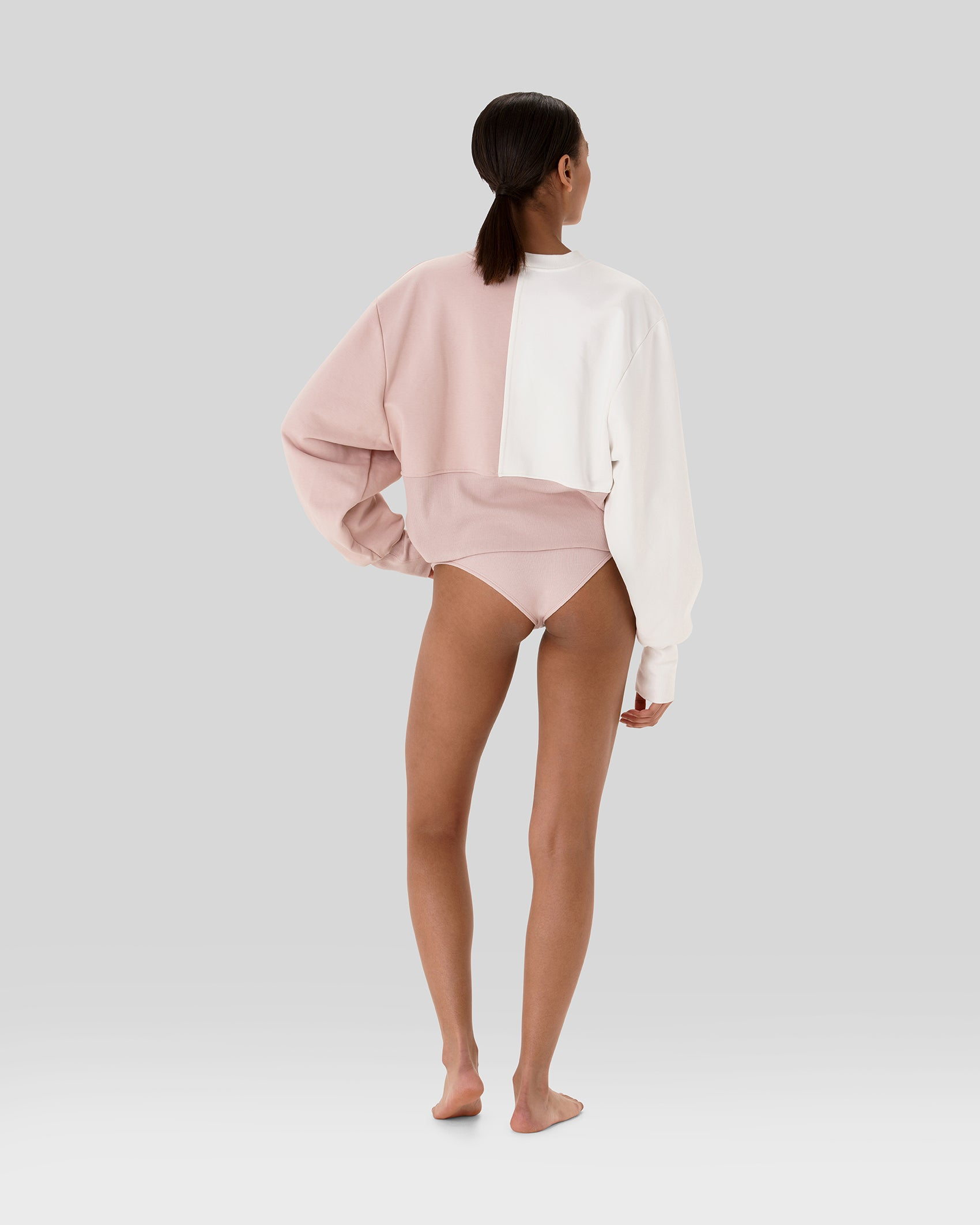 Maeve Bicolour Oversized Sweatshirt