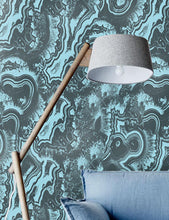Big Light Blue Malachite Wallpaper - WallpapersforBeginners