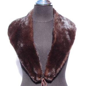 DARK RANCH MINK COLLAR