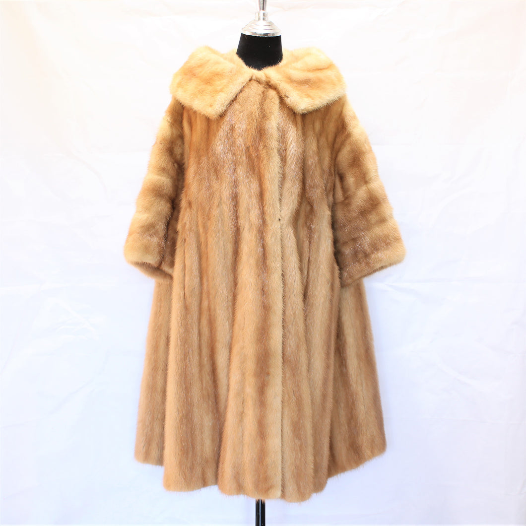 AUTUMN HAZE MINK 3/4 COAT