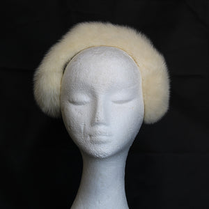 JASMINE MINK HEADPIECE