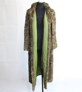 SCULPTED PIECED MINK COAT