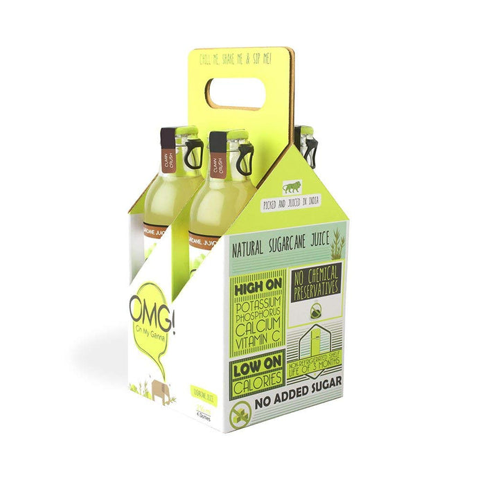 OMG! Sugarcane Juice - Cumin Crush 4 Bottle Pack