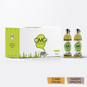 OMG! Sugarcane Juice - Mixed 24 Bottle Case