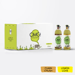 OMG! Sugarcane Juice - Cumin and Lemon Mixed  24 Bottle Case
