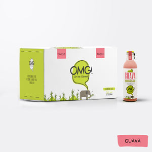 OMG! Guava Fruit Juice 24 Bottle Box