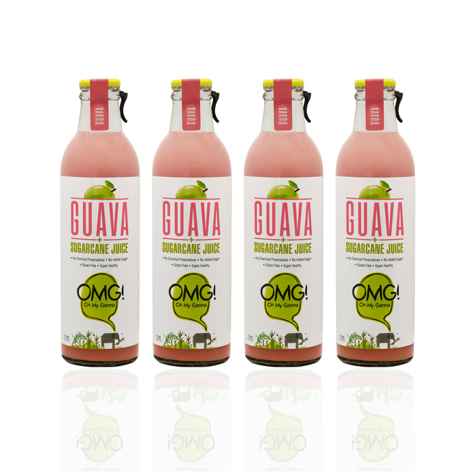 OMG! Guava Fruit Juice 4 Bottle Pack