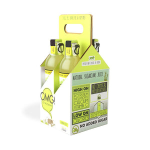 OMG! Sugarcane Juice - Lemon Love 4 Bottle Case