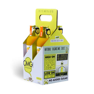 OMG! Mango Fruit Juice 4 Bottle Pack