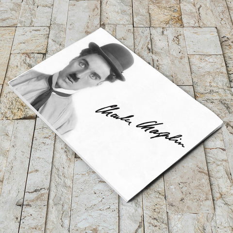 Charlie Chaplin Classic Signature Notepad (Lifestyle)