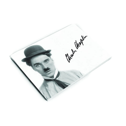 Charlie Chaplin Classic Signature Notepad