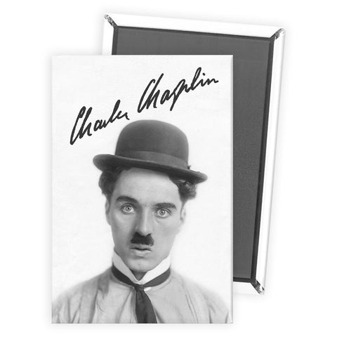 Charlie Chaplin Classic Signature Magnet