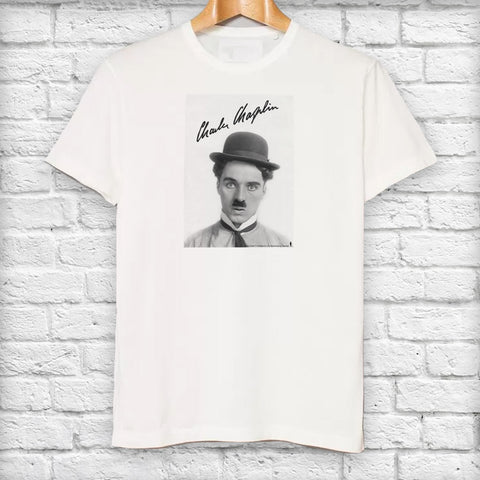 Charlie Chaplin Classic Signature T-Shirt (Lifestyle)