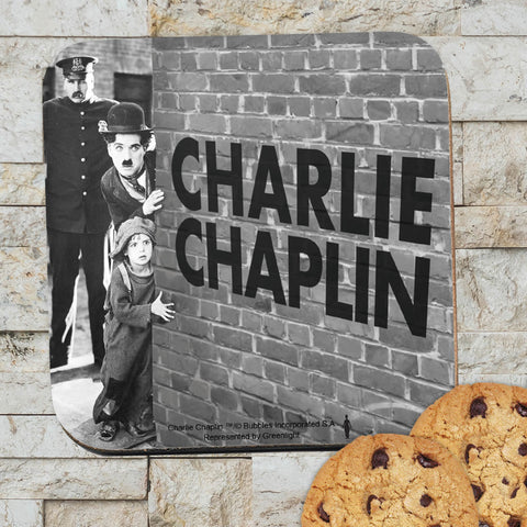 Charlie Chaplin Wall Coaster (Lifestyle)