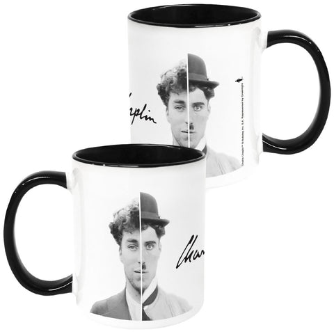 Charlie Chaplin Cinematic Icon Coloured Insert Mug