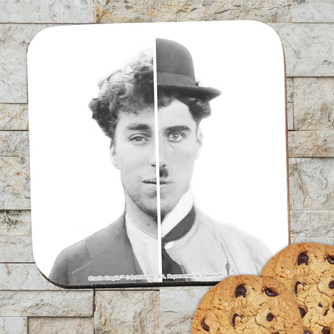 Charlie Chaplin Cinematic Icon Coaster (Lifestyle)