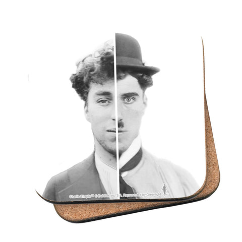 Charlie Chaplin Cinematic Icon Coaster
