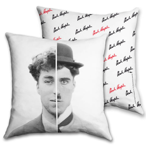 Charlie Chaplin Cinematic Icon Cushion