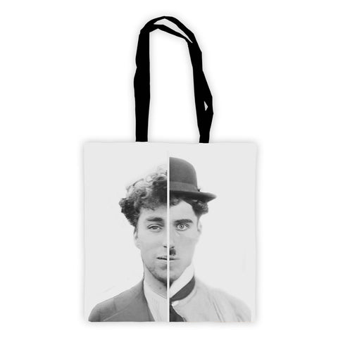 Charlie Chaplin Cinematic Icon Premium Tote