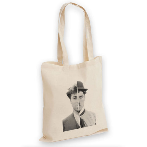 Charlie Chaplin Cinematic Icon Tote Bag