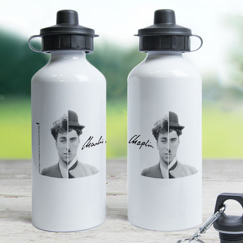 Charlie Chaplin Cinematic Icon Water Bottle (Lifestyle)