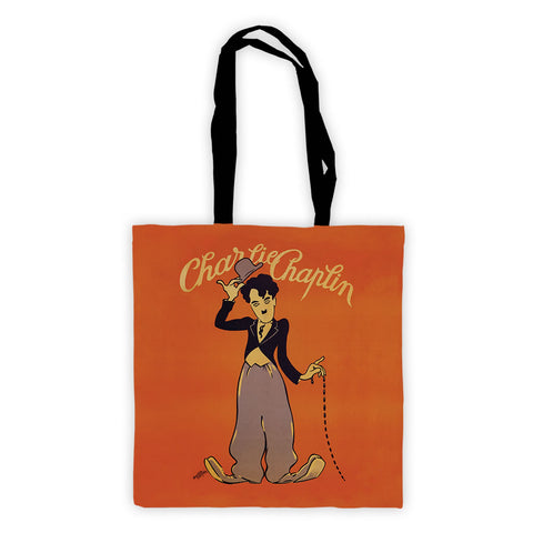 Charlie Chaplin Poster Premium Tote