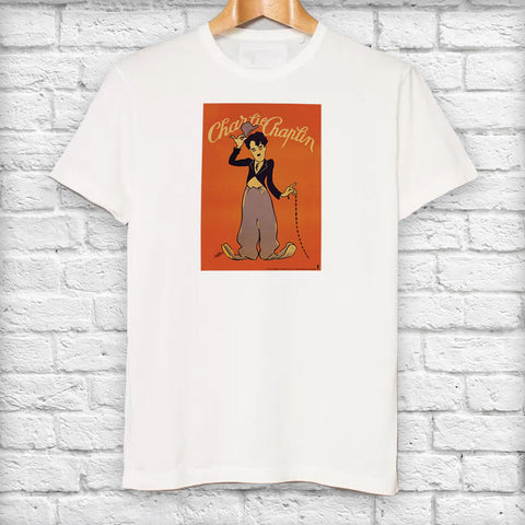 Charlie Chaplin Poster T-Shirt (Lifestyle)